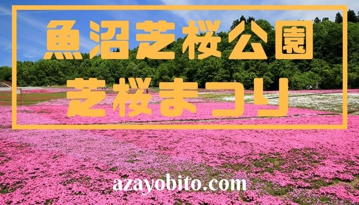魚沼芝桜公園 芝桜祭り 2018