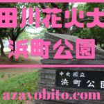 隅田川花火大会浜町公園