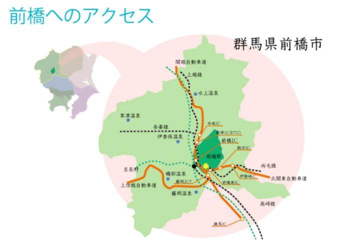 前橋七夕祭り アクセス