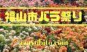 福山バラ祭り2019のイベント時間は何時まで?駐車場と交通規制情報も